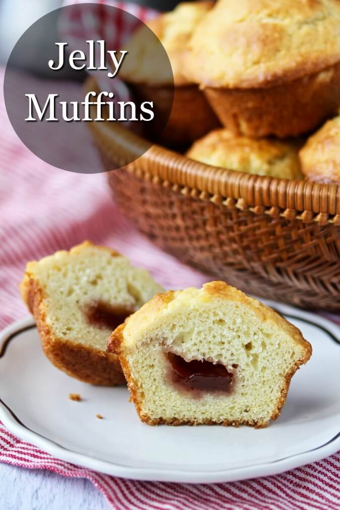 Jelly filled muffins