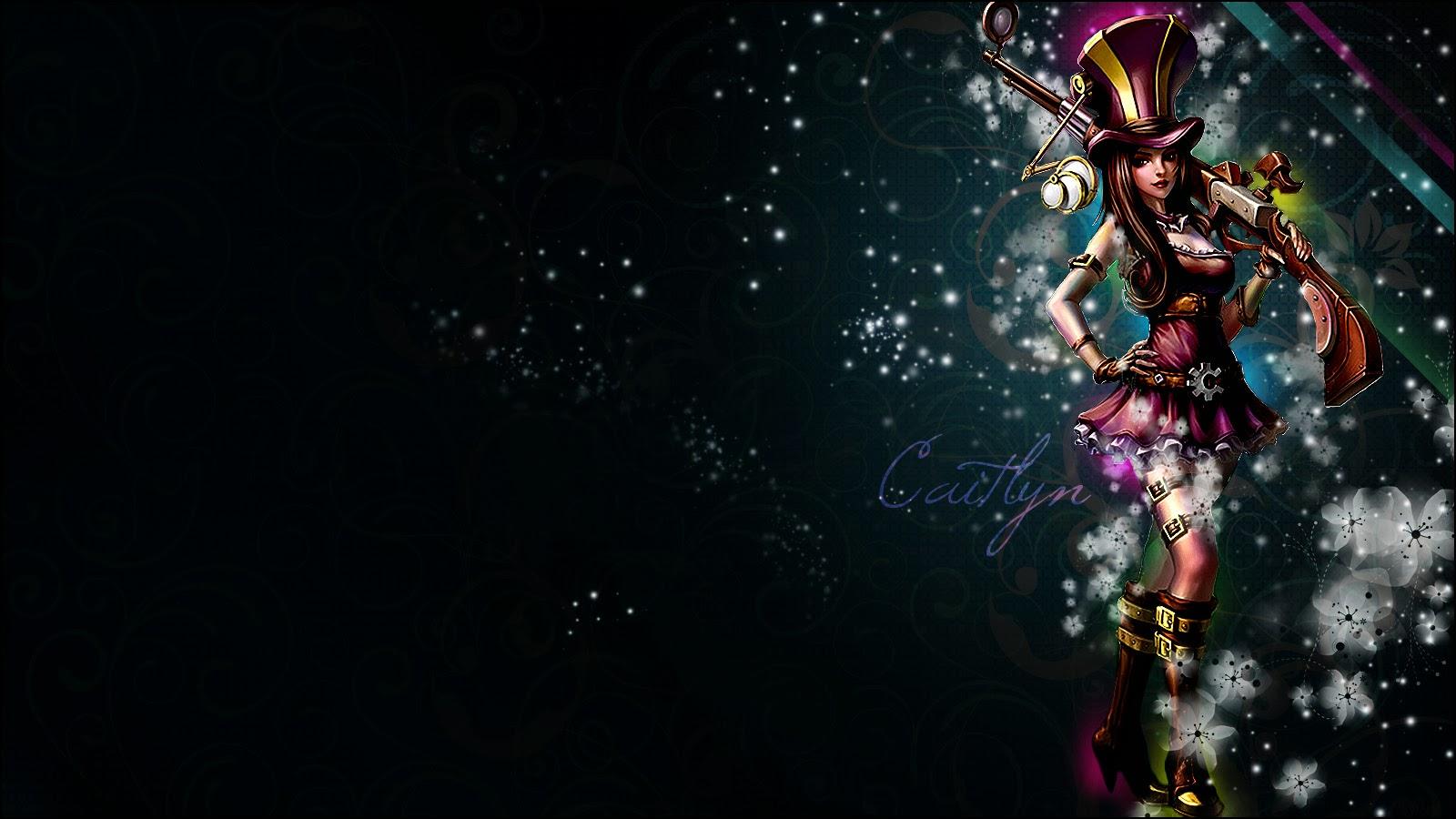 Caitlyn league of legends wallpaper caitlyn desktop wallpaper - League desktop backgrounds ...