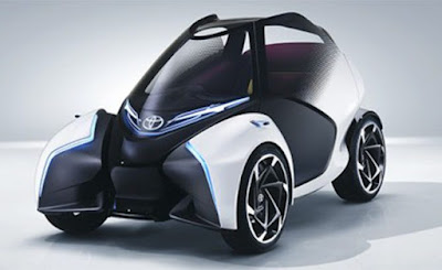 Newly exposed toyota I-TRIL mini electric vehicle