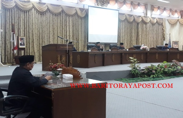 Raperda APBD Pertanggungjawaban APBD di Setujui
