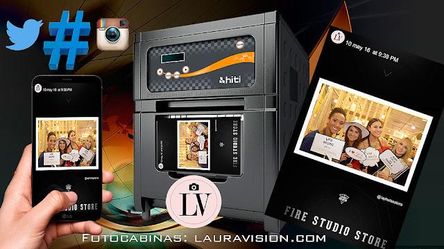 Impresión de fotos desde Instagram con hashtag