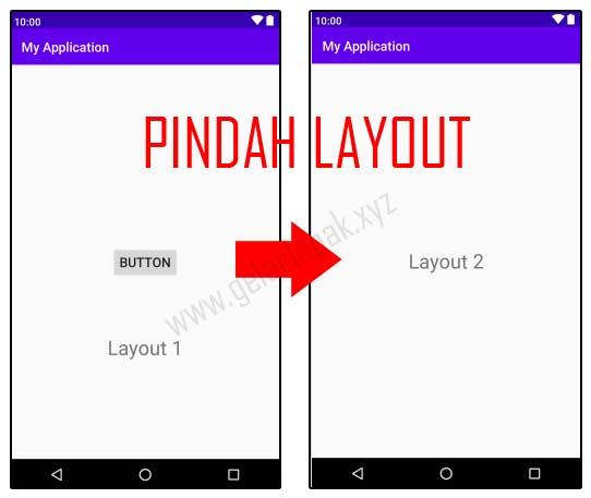 Cara Pindah Layout di Android Studio