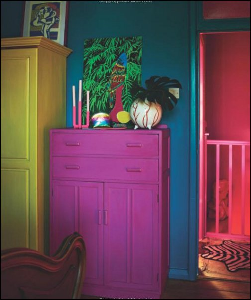 Be Bold Interiors for the Brave of Heart decorating with color