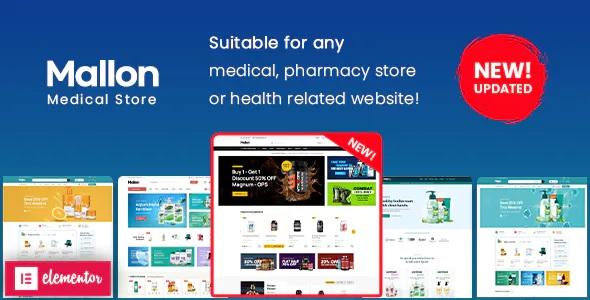 Best Medical Store Elementor WooCommerce WordPress Theme