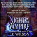 Book Blitz - Excerpt & Giveaway - Night of the Vampire by L.E. Wilson