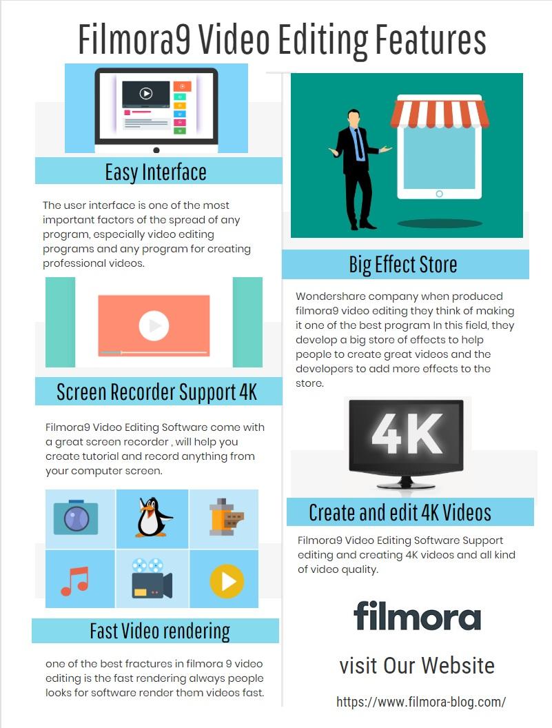 Filmora9 Infographic