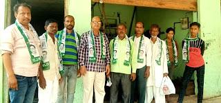 #JaunpurLive : राष्ट्रीय लोकदल की ग्रहण किया सदस्यता