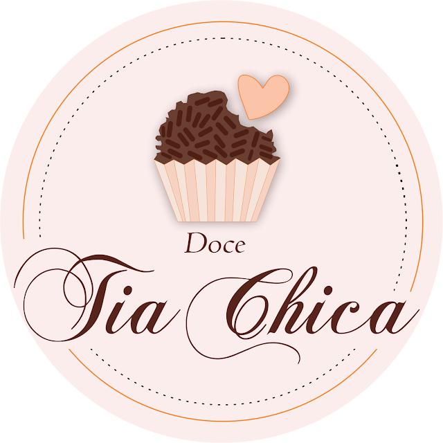 Logo desenvolvida para empresa de doces Tia Chica -SFI-RJ