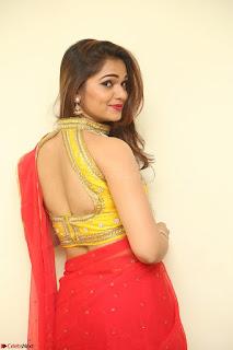 Actress Ashwini in Golden choli Red saree Spicy Pics ~  088.JPG