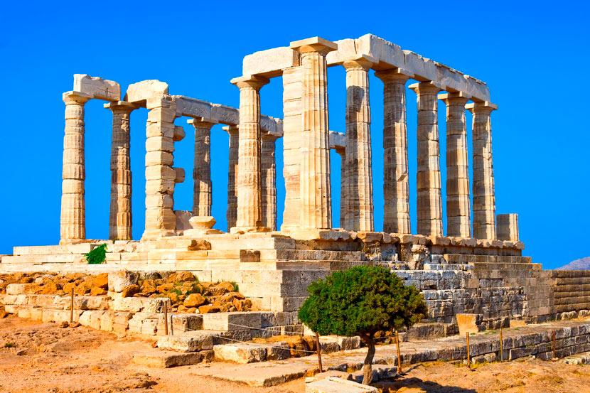 Temple of Poseidon Sounion 4