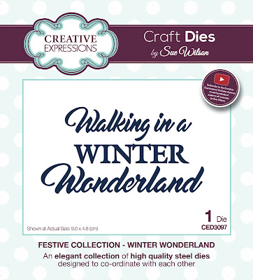 Festive Collection Winter Wonderland Die - CED3097