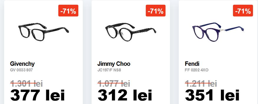 Lensa.ro - Luxury Sale - Reduceri de pana la 70% la ramele de ochelari de lux