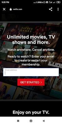 Netflix account kaise banaye