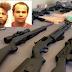 Detienen tres dominicanos con rifles de alto calibre incluyendo AK-47 en Providence.