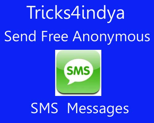 Send anonymous sms : pitaniesug ga