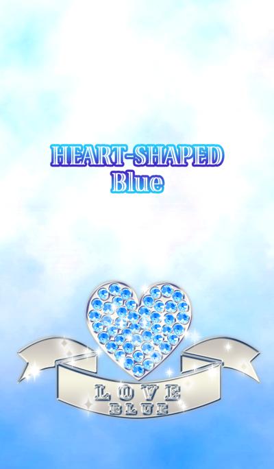 HEART-SHAPED Blue