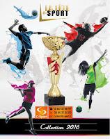 Catalogue La Fête du Sport 2016 : Coupes, Médailles, Trophées.