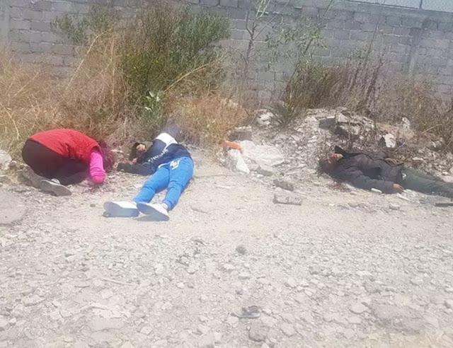 Sicarios forman a Narcomenudistas en Valle de Chalco y los ejecutan
