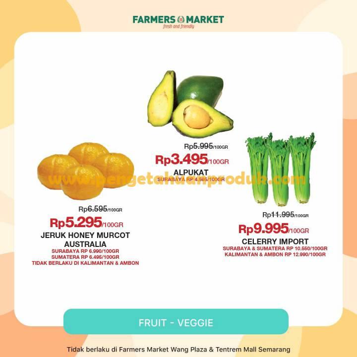 Katalog Promo Farmers Market Weekend Periode 9 11 Oktober 2020