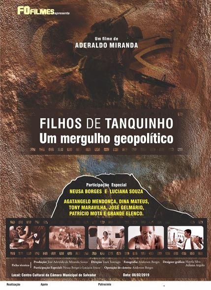 Filme Filhos de Tanquinho completa 03 anos revelando a bela região de Feira de Santana na Bahia