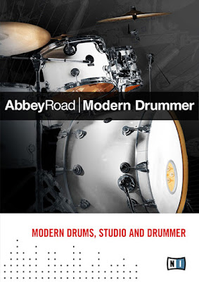 Cover Box da Library Native Instuments - Abbey Road Modern Drummer 1.3 (KONTAKT)