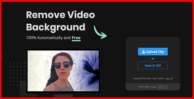 يمكنك إزالة خلفية أي فيديو في ثانية عبر هذا الموقع الذي اشتهر بسرعة