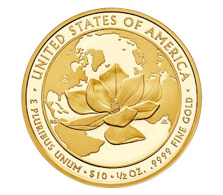 United States Gold Coins 2015 10 Dollars First Spouse Gold Coin