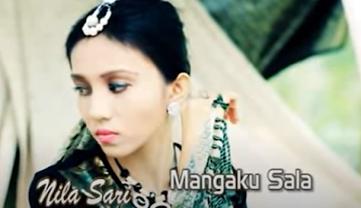 Lirik Mangaku Sala - Nila Sari