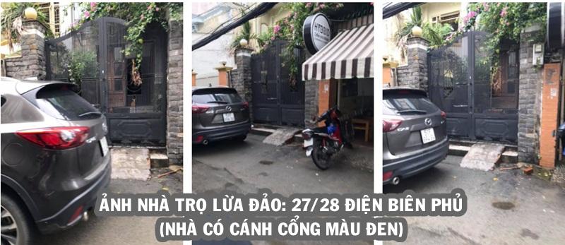 Ảnh nhà trọ lừa đảo: 27/28 Điện Biên Phủ, Bình Thạnh