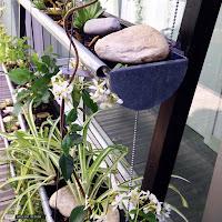 Création originale jardin suspendu - Eric Vitasse