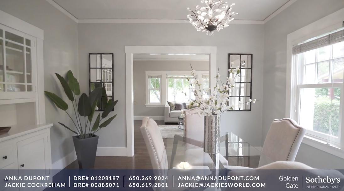14 Photos vs. Tour 1311 Palm Ave, San Mateo, CA Luxury Home Interior Design