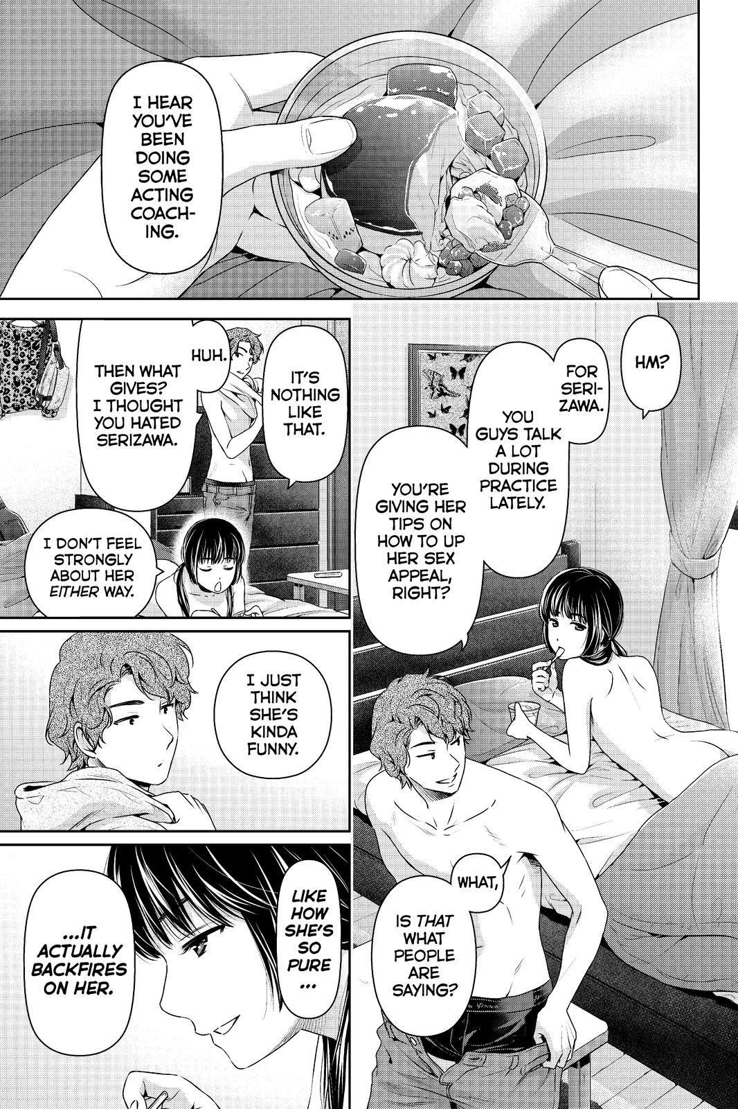 Domestic Na Kanojo Chapter 196 Mangaclub Net