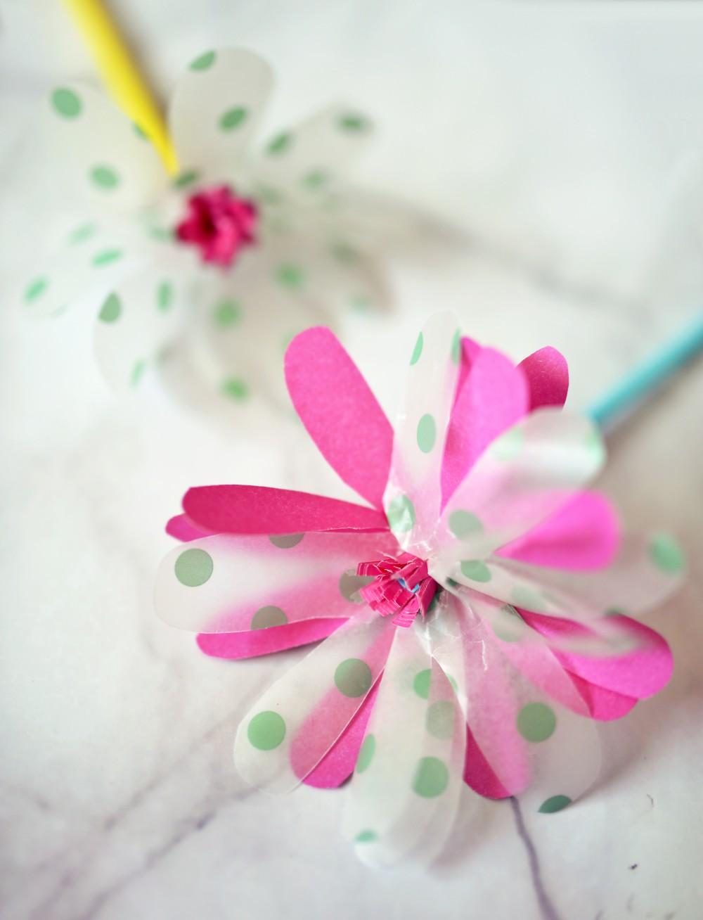 DIY: papierowe kwiaty