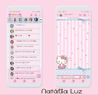Alone Kitty Theme For YOWhatsApp & Fouad WhatsApp By Natalia Luz
