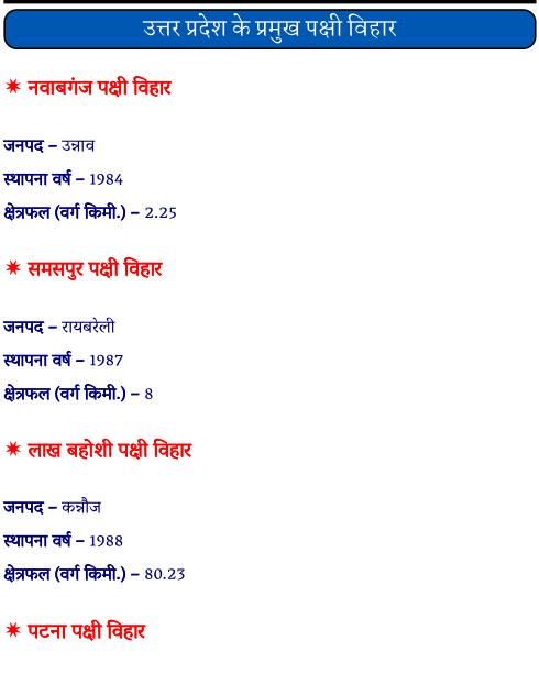 उत्तर प्रदेश के प्रमुख पक्षी विहार पीडीऍफ़ पुस्तक | Uttar Pradesh Ke Pramukh Pakshi Vihar PDF Book In Hindi