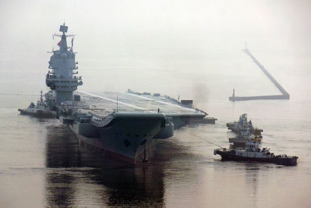 Trung Quốc: cách ly hàng trăm binh sĩ sau khi phát hiện sĩ quan của Hàng không mẫu hạm bị nhiễm Covid-19