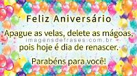 Mensagem para Aniversário, Parabéns pra Você
