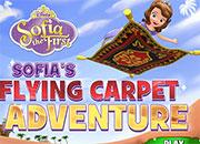 Princesa Sofia aventura en la alfombra