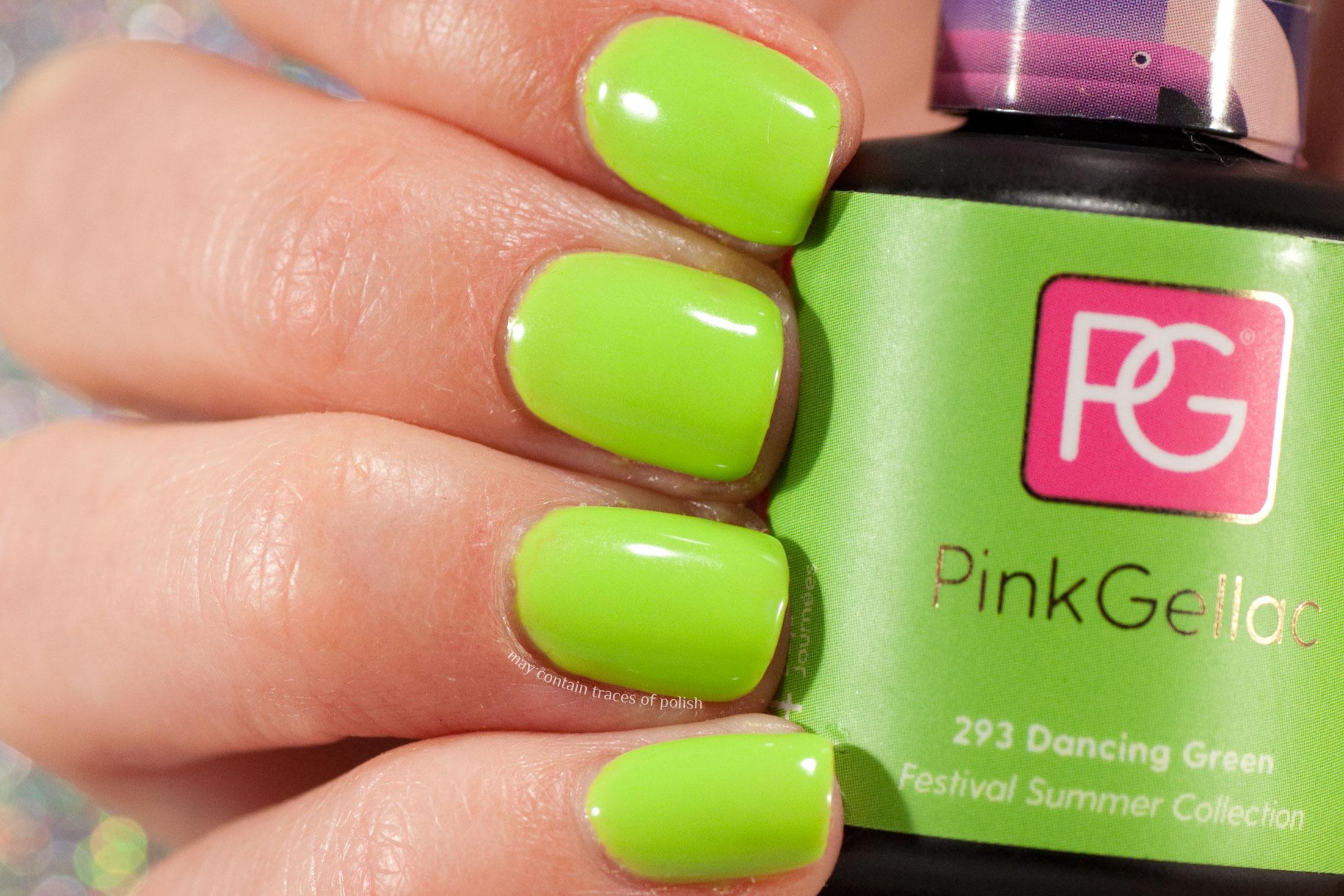 Pink Gellac 293 Dancing Green