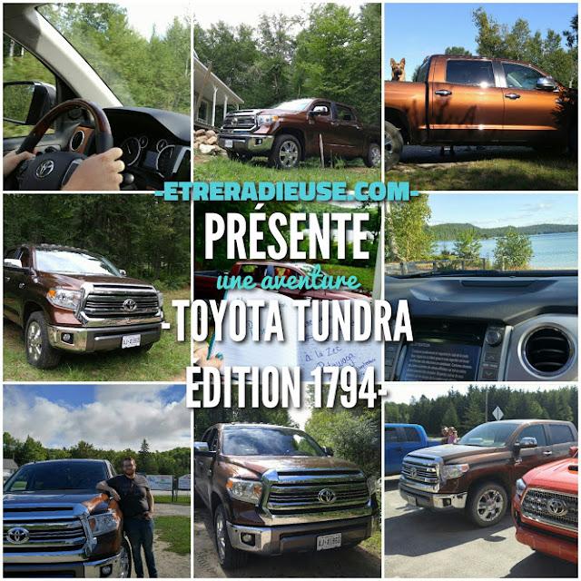 Notre aventure avec le véhicule Toyota Tundra Édition 1794