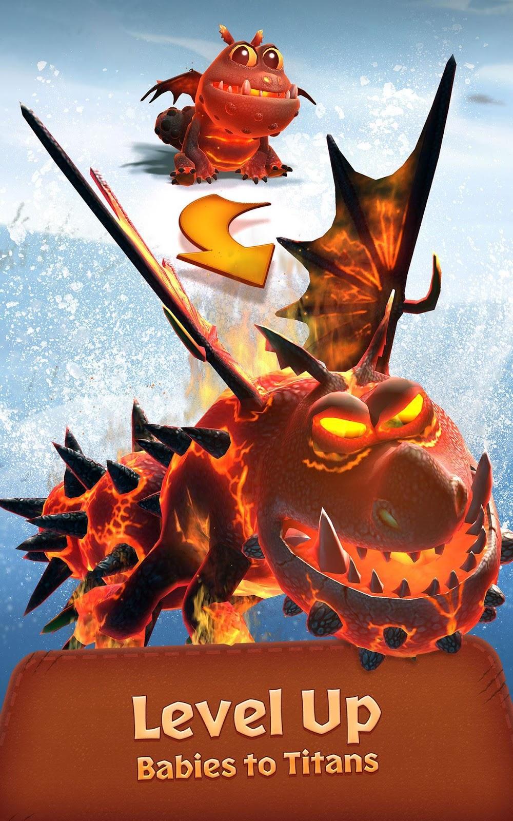 dragon titan uprising apk vzlom apk