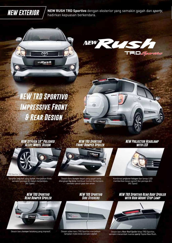 Foto Mobil Toyota Rush 2018 Terbaru Kawan Modifikasi
