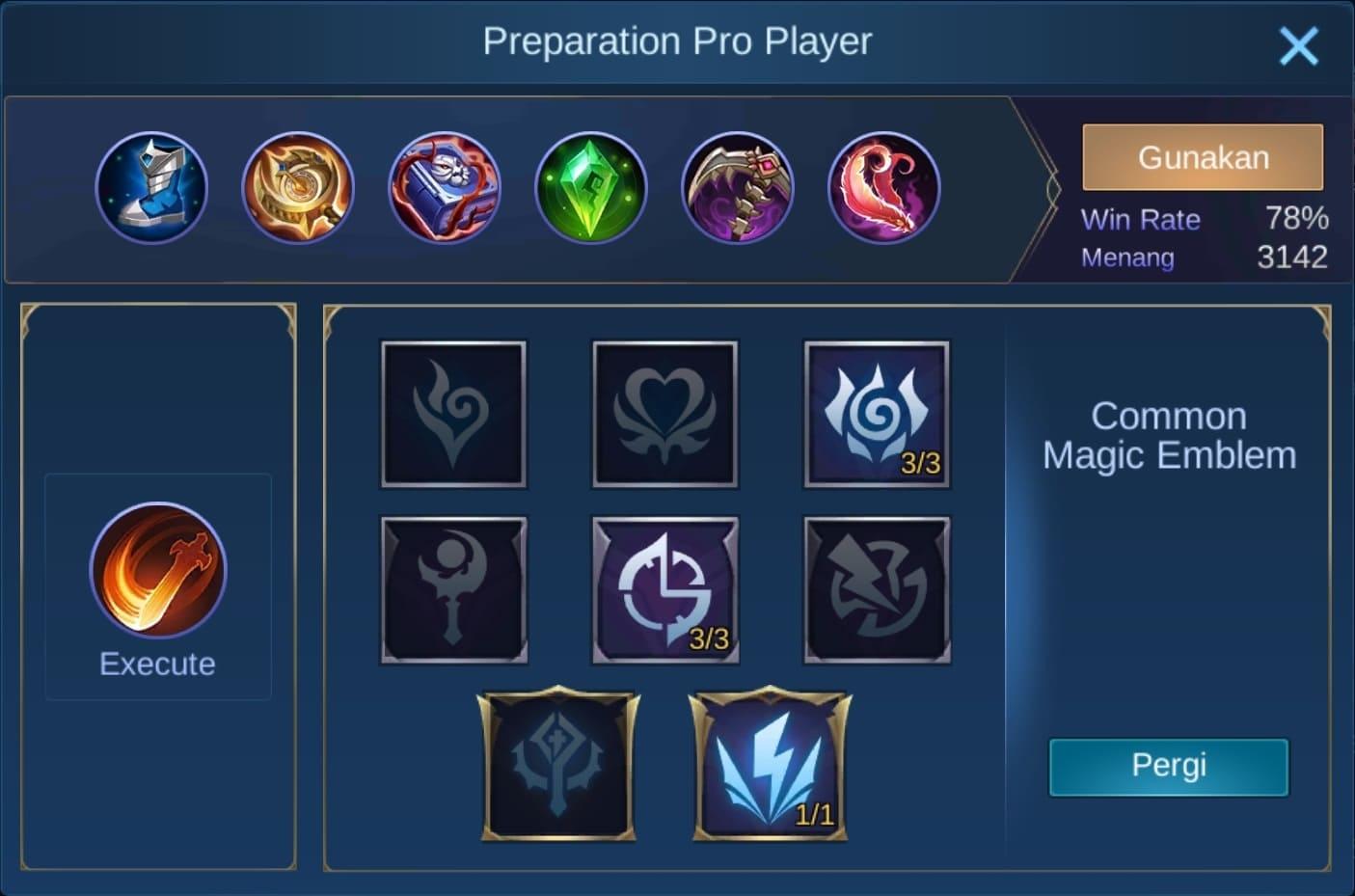 build item alice mobile legends (ML)