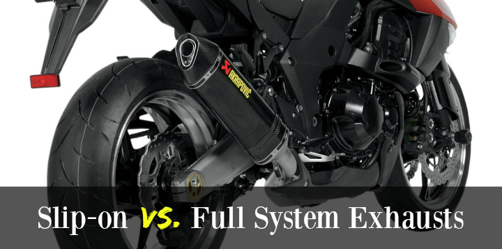 Slipon Vs Full System Motorcycle Exhausts: Second Hand Motorbike Exhausts At Woreks.co