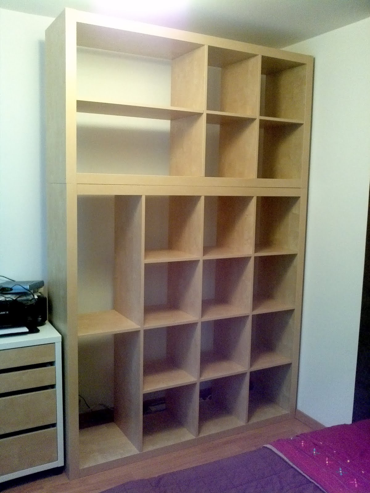 Expedit Kallax Old Expedit To Dressing Storage Get Home Decorating