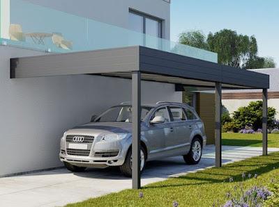 Desain Carport Modern