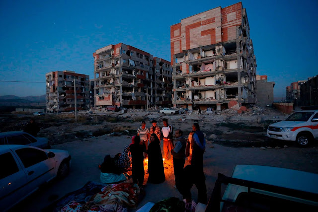 """magnitude 5.1 earthquake struck northern Iran"""