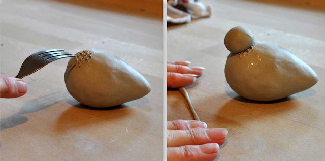 Keramikvogel Anleitung zum Töpfern