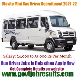 MOVITO Groups Mini Bus Driver Recruitment in 2021-22