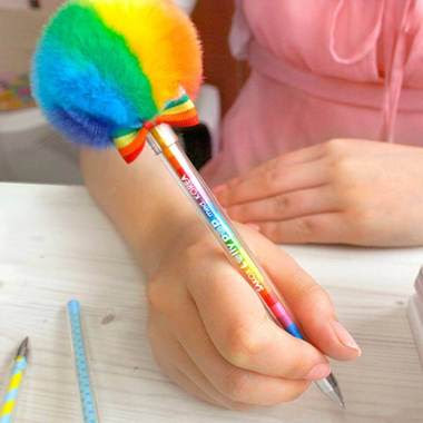 Colorful Lollypop Pen